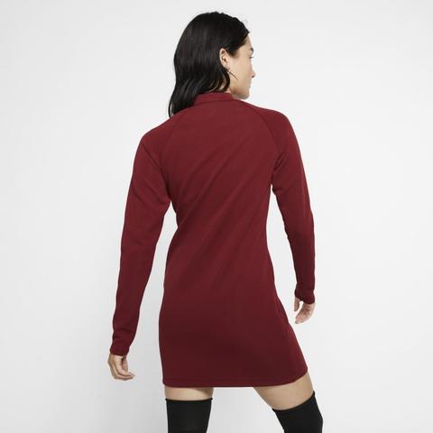 Nike Sportswear Vestido De Manga Larga Mujer Rojo From Nike On 21 Buttons