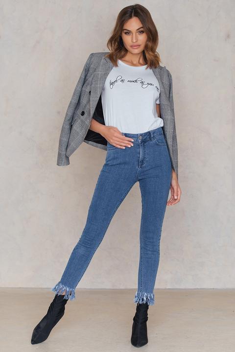 Maren Wolf Jeans Blue de NA-KD en 21 Buttons