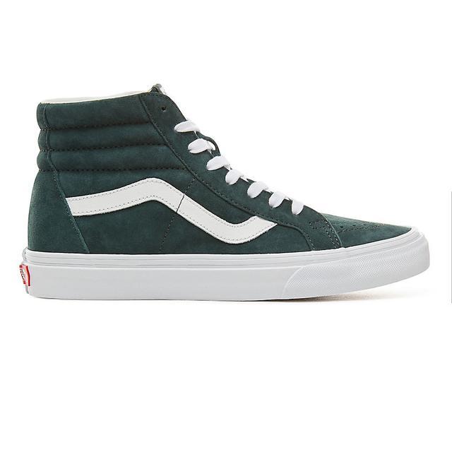 Vans Chaussures En Daim Sk8-hi Reissue ((pig Suede) Darkest Spruce/true  White) Homme Vert from Vans on 21 Buttons