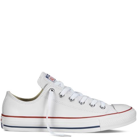 Converse Chuck Taylor All Star En Piel White de Converse en 21 Buttons