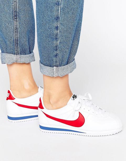 Nike - Classic Cortez - Sneakers Rétro In Pelle - Multicolore de ASOS en 21 Buttons
