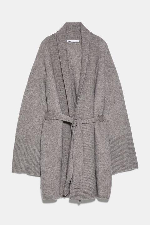 Chaqueta Lana Con Yak Edición Limitada de Zara en 21 Buttons