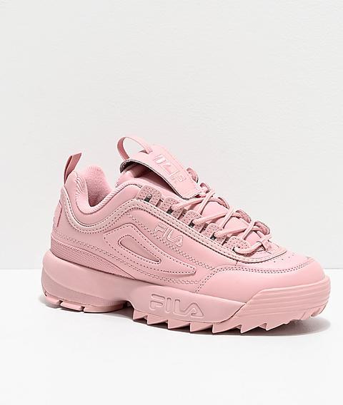 Fila Disruptor Ii Autumn Pink Shoes | Zumiez from Zumiez on 21 Buttons