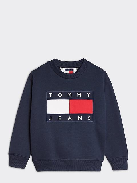 Sudadera Tommy Jeans Con Parche Y Logo de Tommy Hilfiger en 21 Buttons
