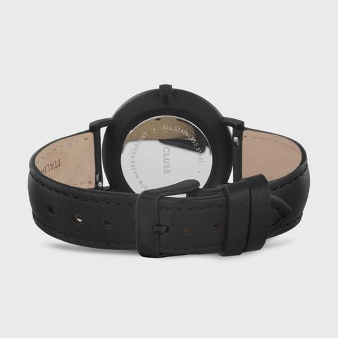 La Bohème Leather Black, Black/black