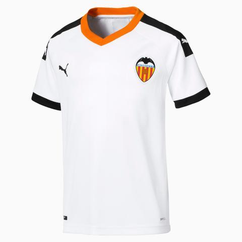 Camiseta De La Primera Equipación De Réplica De Niño Valencia Cf, Naranja/negro/blanco, Talla 128 | Puma de Puma en 21 Buttons