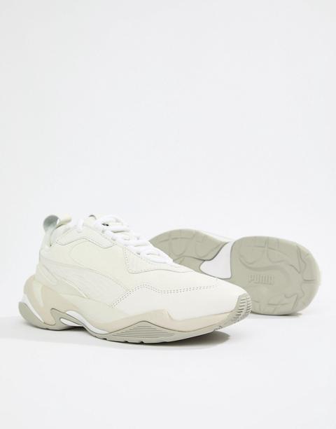 Zapatillas De Deporte Blancas Thunder Desert De Puma-gris