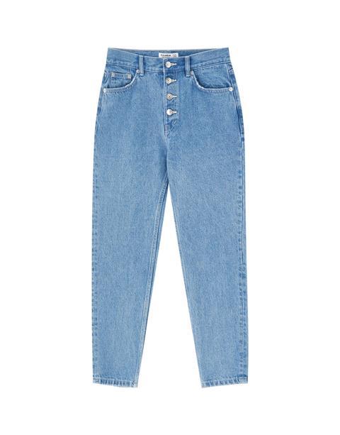 Jeans Mom Botones