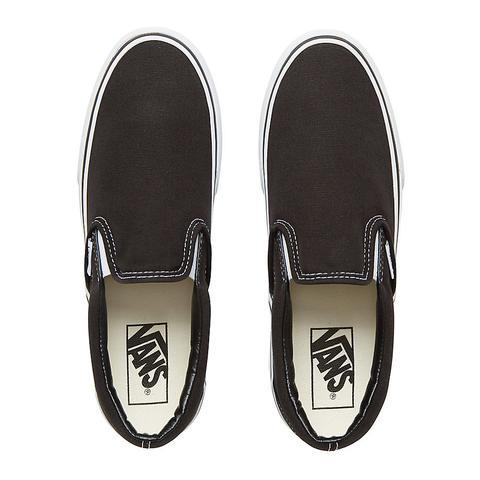 Vans Zapatillas De Plataforma Classic Slip-on (black) Mujer Negro
