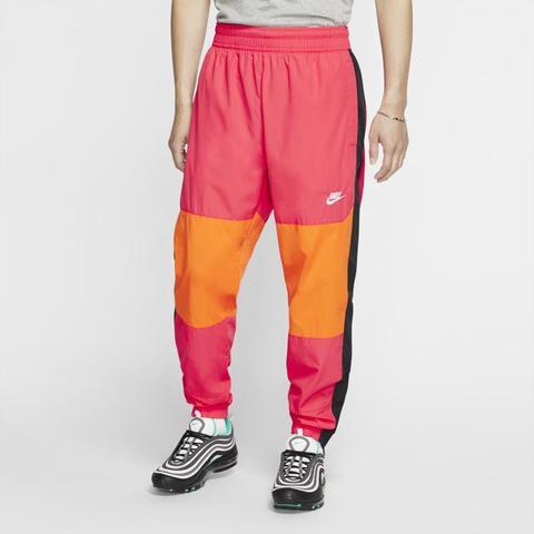 Grande quercia terrazza scudo  Pantaloni Woven Nike Sportswear - Red from Nike on 21 Buttons