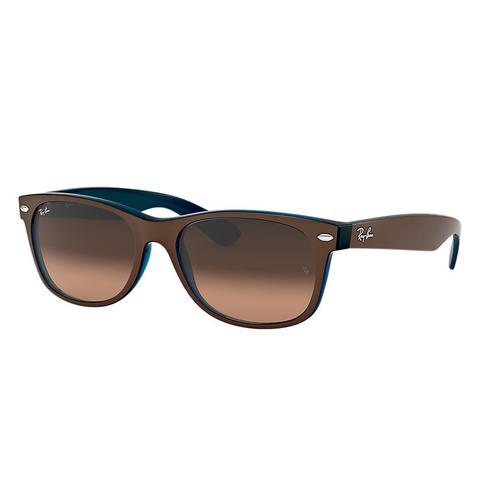 acheter en ligne ad94a 16a3b New Wayfarer Color Mix Unisex Sunglasses Lentes: Rosa, Montura: Marrón from  Ray-Ban on 21 Buttons