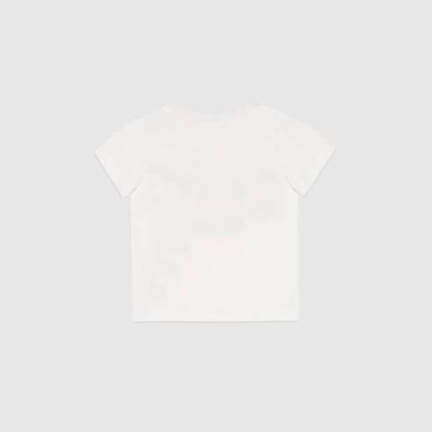 Camiseta De Bebé Con Logo Gucci