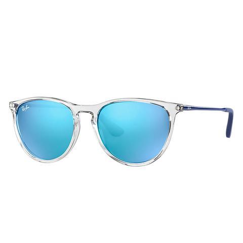 Izzy Unisex Sunglasses Lentes: Azul, Montura: Azul de Ray-Ban en 21 Buttons