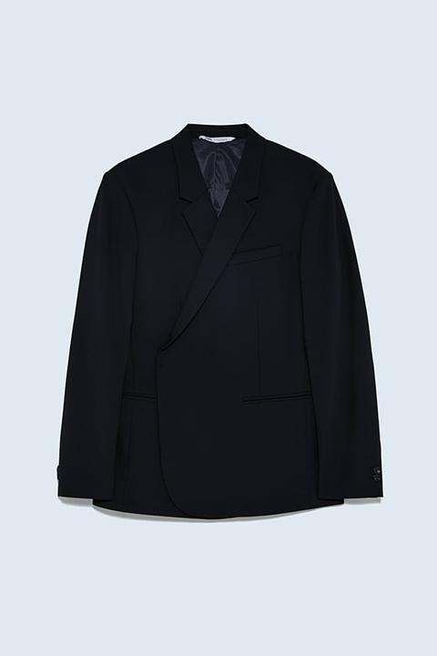 Blazer Cruzada Conjunto de Zara en 21 Buttons