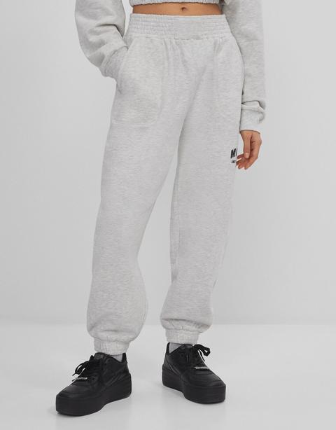 Pantalón Jogger Felpa Print