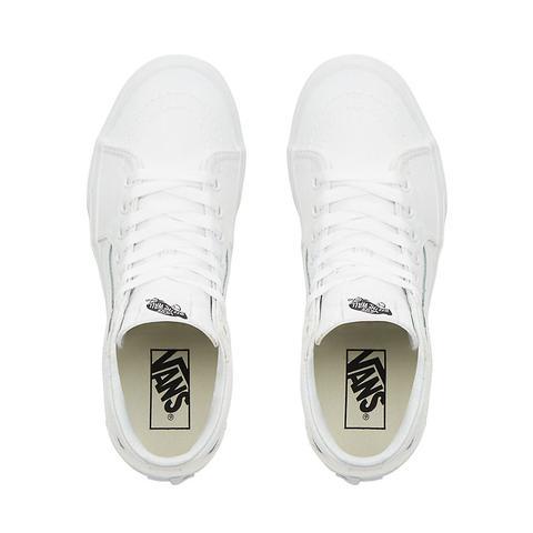 Vans Zapatillas Sk8-hi 2.0 Con Plataforma (true White) Mujer Blanco
