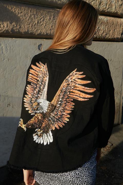Chaqueta Bordado Águila de SUBDUED en 21 Buttons