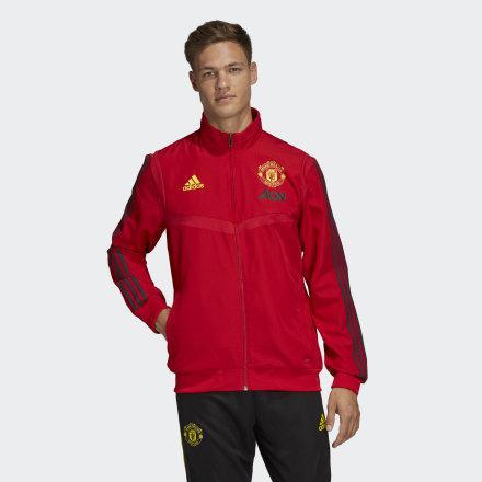 Chaqueta Presentación Manchester United de Adidas en 21 Buttons