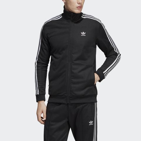 really cheap many styles huge sale Adidas Originals - Dv3118 - Schwarze Trainingsjacke Mit ...
