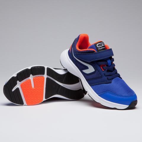 buy popular get cheap 100% authentic Chaussure Athlétisme Enfant Run Support Scratch Noir Gris Orange ...