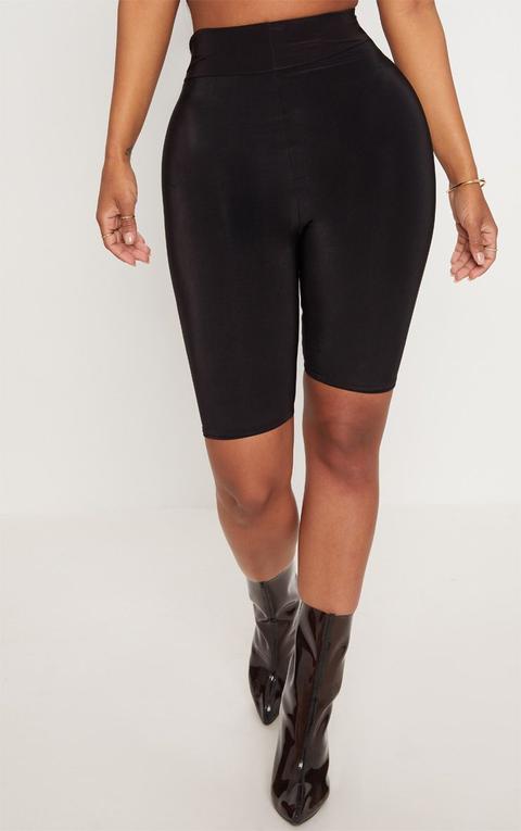 Shape Black Slinky Cycling Shorts, Black