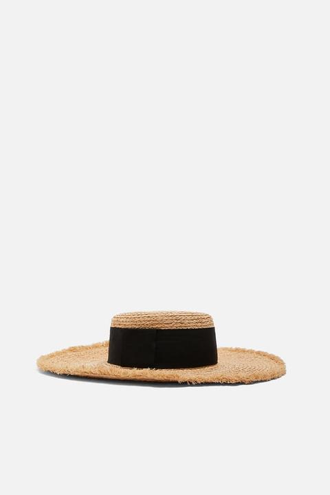 Sombrero Rafia Cinta