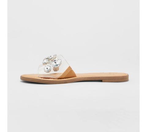 Women's Alana Gem Slide Sandals - A New