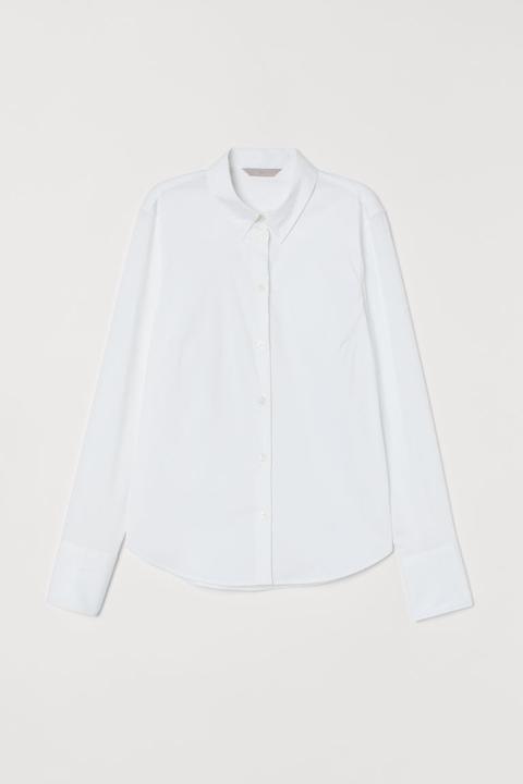 Camisa Stretch - Blanco