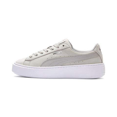chaussure puma femmes grise plateform