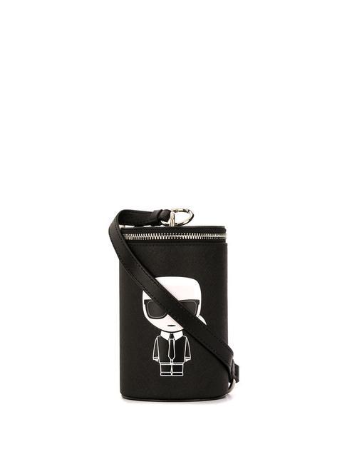 Karl Lagerfeld Bolso De Mano K/ikonik - Negro