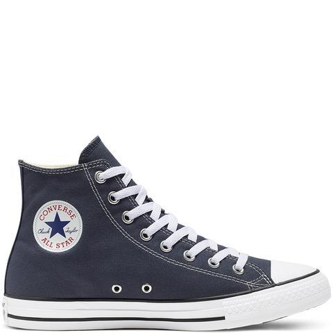 Converse Chuck Taylor All Star Classic High Top Blue de Converse en 21 Buttons