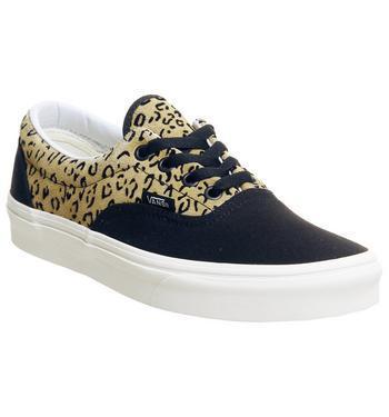 Vans Era Leopard Black Taffy