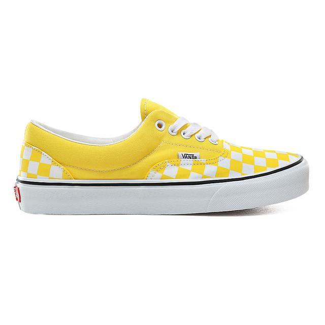 vans noir et jaune femme