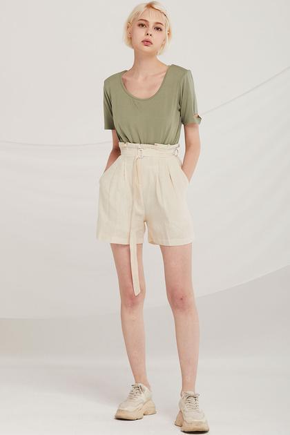 Reese Linen Bermuda Shorts