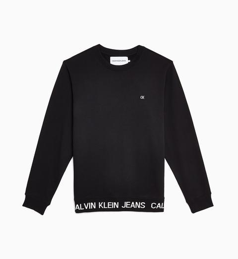 Felpa Con Logo de Calvin Klein en 21 Buttons