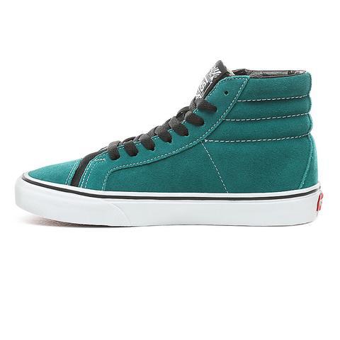 vans mujer zapatillas verde