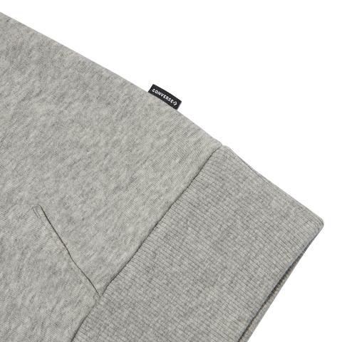 Converse Sudadera Con Capucha Star Chevron Embroidered Grey
