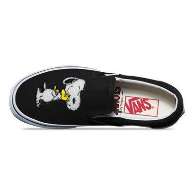 Vans Chaussures Vans X Peanuts Slip on (best Friendspeanuts true White) Homme Noir from Vans on 21 Buttons