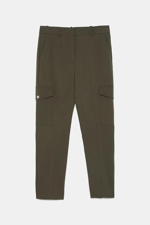 Pantalón Cargo Bolsllos
