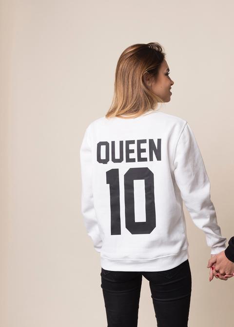 Sudadera Queen de Posturopa en 21 Buttons