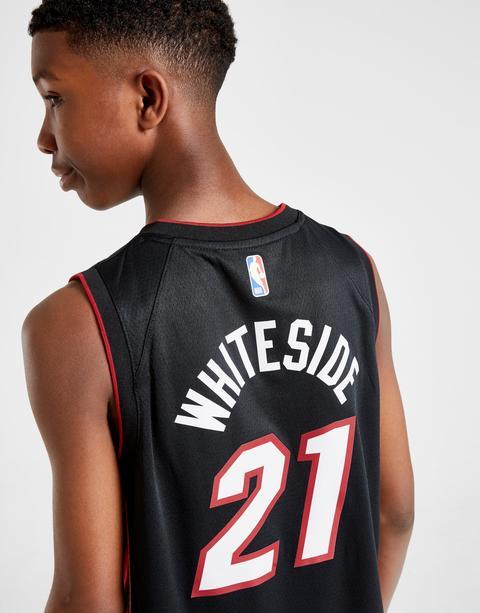 Nike Nba Whiteside Miami Heat Jersey Junior Black Kids From Jd Sports On 21 Buttons