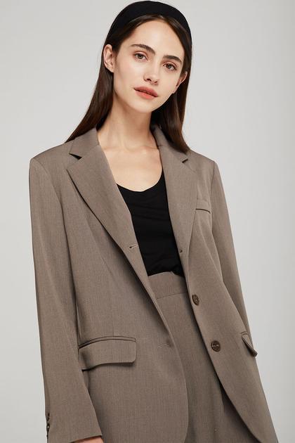 Mackenzie Oversized Jacket de Storets en 21 Buttons