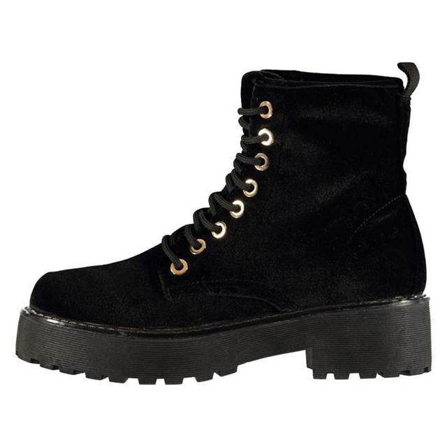 Lee Cooper Eileen Velvet Ladies Boots