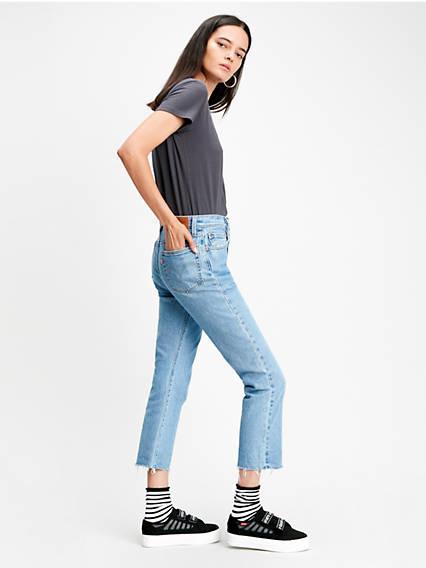501® Crop Jeans Azul / Tango Beats