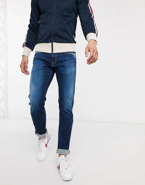 Replay Slim Jeans-blue