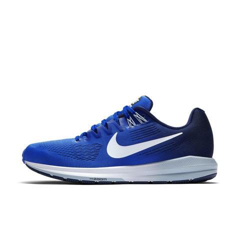 Nike Air Zoom Structure 21 Zapatillas De Running - Hombre - Azul de Nike en 21 Buttons