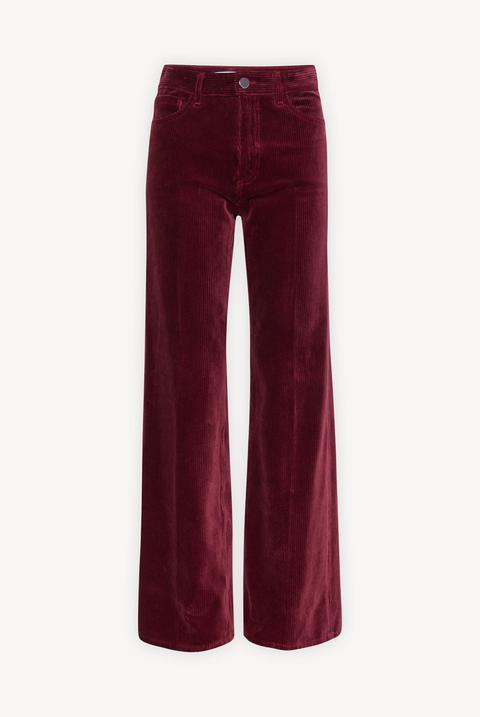 Wide-leg 7/8 Corduroy Pants de GERARD DAREL en 21 Buttons