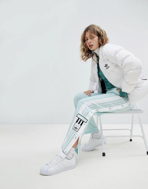 pantaloni con i bottoni adidas