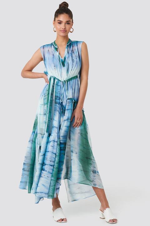 Mango Tayi Dress - Blue from NA-KD on 21 Buttons