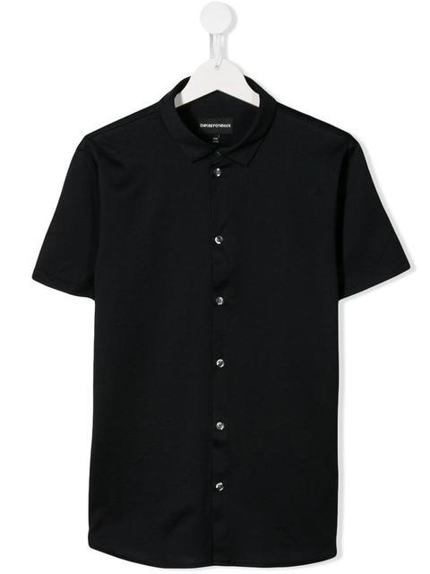 newest 2c296 40499 Emporio Armani Kids - Camicia A Maniche Corte from Farfetch on 21 Buttons